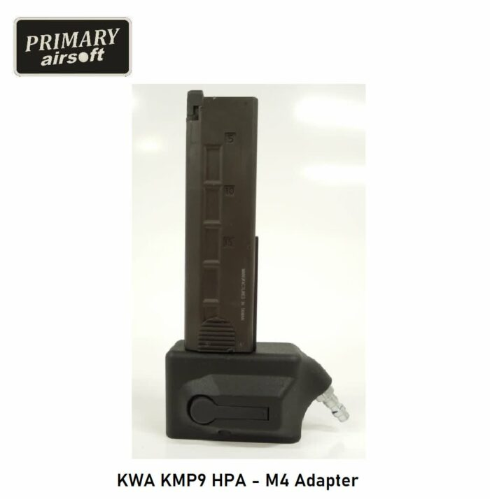 KWA KMP9 HPA - M4 Adapter - Primary Airsoft